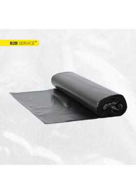 Пакети для сміття 120л / 10шт LD, чорні