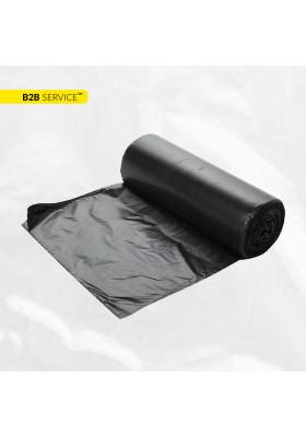 Пакети для сміття 160л / 10шт LD, чорні