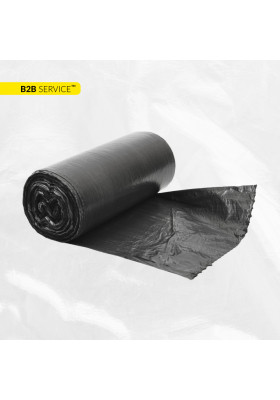Пакети для сміття 35л / 50шт XD, чорні